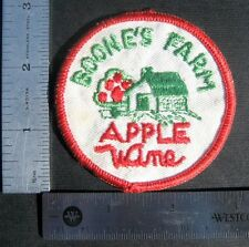 """BOONES FARM EMBROIDERED SEW ON ONLY PATCH APPLE WINE UNIFORM 2 7/8"""" ROUND"""