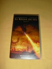 Le Règne du feu VHS Videocassette Christian Bale Matthew McConaughey