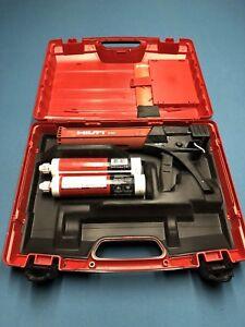 Hilti DSC Foam Dispenser With Case and Tubes