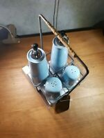 Table caddy, salt and pepper, Condiments. B