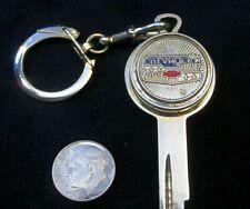 CHEVROLET Coin Holder Crest KEY BLANK All Model 1935-1966 B-10 Vintage NOS Gold