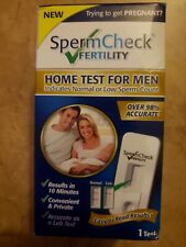 Prueba de casa spermcheck la fertilidad masculina