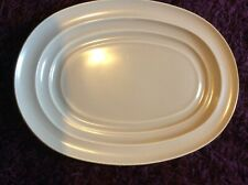 VINTAGE 1950s BRANKSOME CHINA PLATTER SERVING DISH 36CM