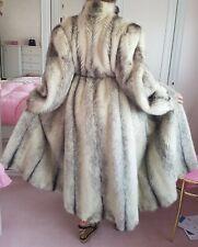 Mink Fur Coat Kohinoor Black Cross Nerz Pelz Mantel Jacke Echtfell 42 44 46 neu