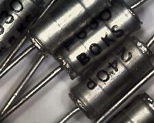 10 Philips 240pf 0.24nf 630v 1% Condensador De Poliestireno 2222-431-82401 plomo axial