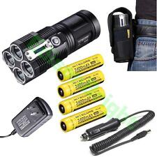 Nitecore TM26 4000 Lumen Flashlight/Searchlight Tiny Monster 4X 18650 3400mAh
