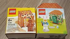 Lego Gingerbread Man 5005156 Bunny Hut 5005249 Lego mini figures