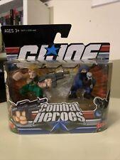 2008 G.I. Joe Combat Heroes 2 pack - Duke & Cobra Trooper - Hasbro New In Box