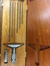 Brown Amp Sharpe 0 6 Depth Micrometers