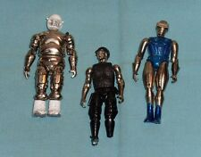 vintage Zee Toys METAL MAN RADON + MAJOR MERCURY + SERGEANT SILVER LOT
