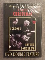 A Classic Christmas: Scrooge/Beyond Tomorrow (DVD, DVD Double Feature)
