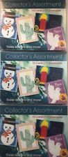 Children's Art Collector's Assortment Holiday Cards Snowman, Cactus, Peace, Dove