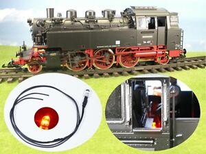 S230 - Flickering Fire for Steam Locomotive G +1 +0 Boiler Standing Firebox
