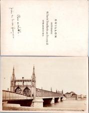 France, Strasbourg, Pont ferroviaire de Kehl sur le Rhin, pris de la rive frança