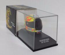 MINICHAMPS VALENTINO ROSSI MODÈLE AGV CASQUE HELMET MOTO 1/8 GP 125cc 1996 NEW