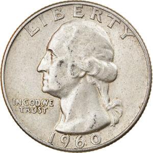 [#832296] Coin, United States, Washington Quarter, Quarter, 1960, U.S. Mint