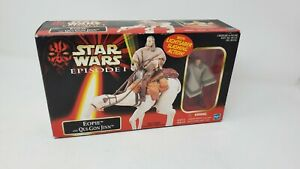 Factory Sealed Star Wars Tomy Japan Episode 1 Eopie and Qui-Gon Jinn