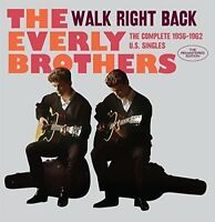 The Everly Brothers - Walk Right Back: Complete 1956-1962 U.S. Singles [New CD]