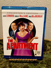 The Apartment (Blu-ray Disc, 2012) Collector's Edition