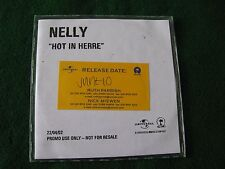 NELLY.. Hot In Herre (1 Track CDR Promo Single)
