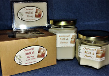 Hand Poured Arousing Scents Soy Candles, Tarts & Votives - Oatmeal Milk & Honey