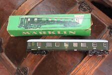 Marklin HO Express Train Luggage Van  4026 D-Zug-Gepackwagen Green with Box
