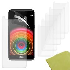 5 Pack PET Film Screen Protector Guard For LG X power