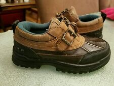 Polo Ralph Lauren toddler youth sz 12.5 ankle boots brown