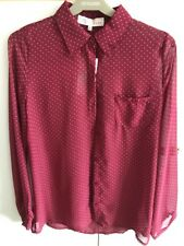 BNWT New Look Shirt Red Size 8
