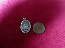 "Infant of Prague 1"" Silver Tone Medal & Sacred Heart of Jesus W/Crown of Thorns!"