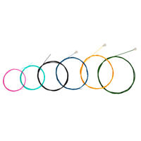 1 Set Colored Nylon Classical Guitar Strings Set 6 String Guitar Parts Accs
