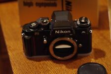 Near Mint Nikon F3 HP High Eyepoint SLR Film Camera Body- used barely if at all.