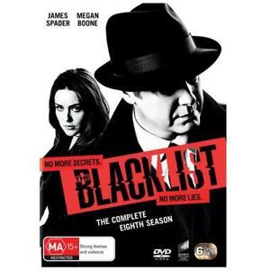 The Blacklist : Season 8 (Dvd,2021) *NEW* Region 4