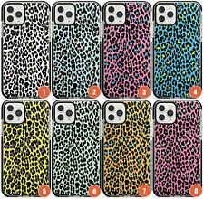 Colourful And Bright Leopard Prints Impact Phone Case for iPhone | Animal Print