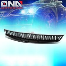 FOR 06-08 CIVIC 2DR FG BLACK ABS MESH STYLE FRONT BUMPER UPPER MESH GRILL GUARD