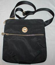 Baggallini Hanover Travel Bag Crossbody Nylon Black Handbag Purse