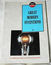 Great Modern Inventions - Gerald Messadie (1992 pb) Chambers Enclyclopedic Guide