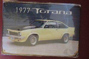 1977 torana  metal sign MAN CAVE vintage style car sign brand new