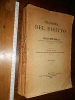 LIBRO -Filosofia del diritto: introduzione storica; parte generale; diritto priv