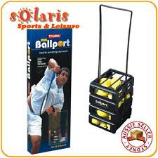 TOURNA MINI BALLPORT 36 Balls Tennis Ball Pick Up Basket Hopper Dispenser