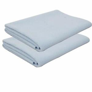 ANGAAKAR CLOTHINGS Waterproof Baby Bed Quick Dry sheet Reusable Pack of 2