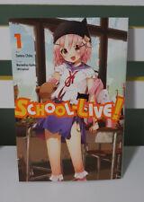 School-Live! Volume 1 by Kaihou, Norimitsu -Paperback LOOTCRATE EXCLUSIVE