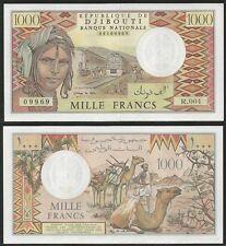 DJIBOUTI - 1000 Francs 1991 UNC  Pick 37d