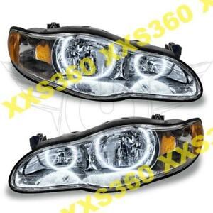 ORACLE Halo 2x HEADLIGHTS for Chevrolet Monte Carlo 00-05 WHITE LED Angel Eyes