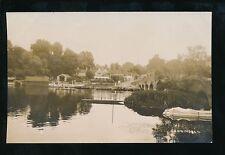 Berkshire Berks SONNING River scene c1900/10s? RP PPC