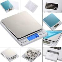 Kitchen Food Scale Digital LCD Electronic Balance Weight Postal Scales Q7O6