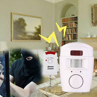New Pir Motion Sensor Home Shed Burgular Alarm System Wireless Security Kit F7