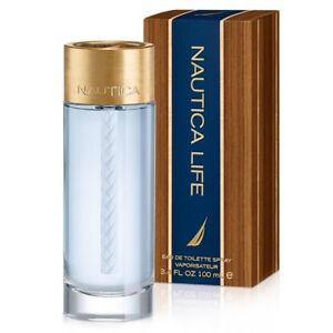 NAUTICA LIFE * Nautica 3.4 oz / 100 ml Eau de Toilette Men Cologne Spray