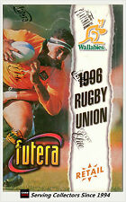 1996 Futera Rugby Union Trading Cards RETAIL Factory Box (40 Packs)