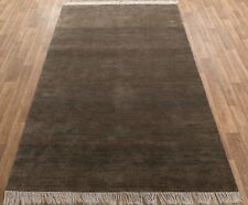 6x9 Striped Rug, Handmade Rug, Wool & Silk Rug, Free Shipping!!!....#2716